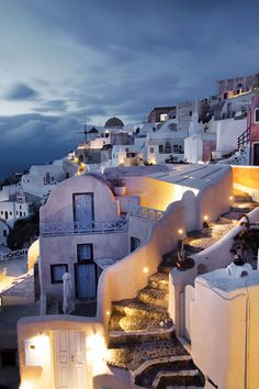 Evening in Oia, Santorini, Greece - selected by www.oiamansion.com
