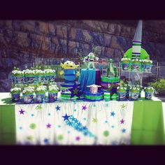 Pastel y Bolsitas #sweetesthing #party #buzz #toystory
