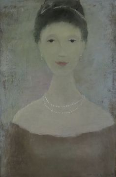 Young Woman with Pearls, 1965 by Jean Paul Lemieux (Canadian Outfit Jeans, College Fun, College Football, Edgar Degas, Great Artists, Les Oeuvres, That Look, Face, Paintings