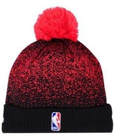 63fd368fcce New Era Chicago Bulls On-Court Collection Pom Knit Hat   Reviews - Sports  Fan Shop By Lids - Men - Macy s