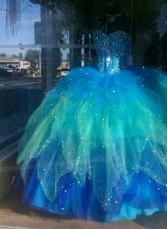 Glow in the dark gown