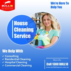📢 House Cleaning Services 📲 Call Us: 1300 BULL 18 ✅ Consulting ✅ Residential Cleaning ✅ Hospital Cleaning ✅ Commercial Cleaning Cleaning Companies, House Cleaning Services, Commercial Cleaners, Professional Cleaning Services, Residential Cleaning, Melbourne Australia, How To Clean Carpet, Clean House, Cleaning Contractors