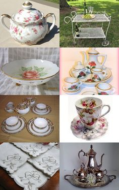Welcome to my Tea party - a V2team treasury by Sally on Etsy--Pinned with TreasuryPin.com