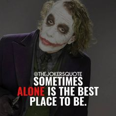 Quotes for Motivation and Inspiration QUOTATION - Image : As the quote says - Description Likes, 10 Comments - Joker Quotes ( on Heath Ledger Joker Quotes, Best Joker Quotes, Joker Heath, Badass Quotes, Batman Quotes, Dark Quotes, Strong Quotes, Wisdom Quotes, True Quotes