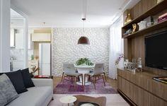Apartamento pequeno: reforma transforma 30 m² em 65 m² (Foto: Denilson…