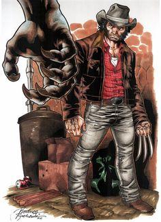 Wolverine vs. Sabretooth by Rodney Buchemi