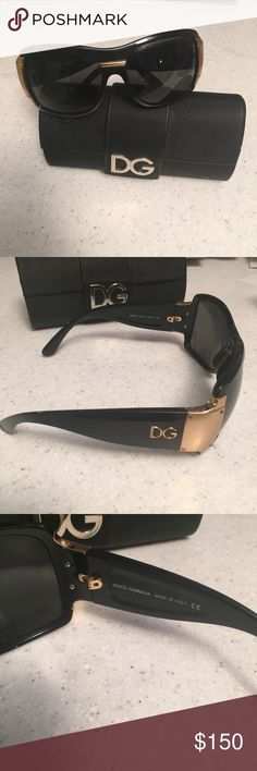 Dolce & Gabbana Sunglasses - excellent condition! Amazingly badass D&G sunglasses. Perfect for fall/winter. Excellent condition! Comes with original case. Style #: DG6013 501/87 Dolce & Gabbana Accessories Sunglasses