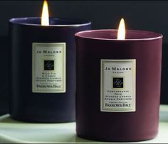 Jo Malone Introduces Collector's Edition Coloured Candles with Farrow & Ball ~ Scented Home & Garden ~ Fragrantica Candle Lanterns, Scented Candles, Pillar Candles, Candle Jars, Brinjal Farrow And Ball, Farrow Ball, Material Girls, Perfume, Glam Room