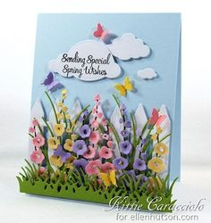 Spring Wishes by Kittie Caracciolo at Ellen Hutson