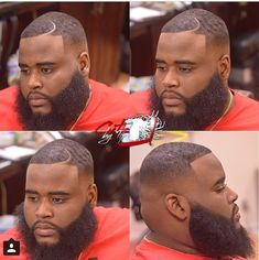 Beard n clean fade