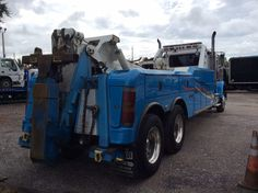 - Tow,recovery - trucks