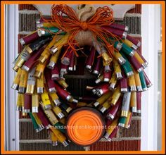 I Can Totally Do That... Directions for Shotgun Shell Wreath.