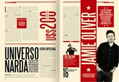 Diseño Editorial - Revista Pymes (re-diseño) by Boris Vargas Vasquez, via Behance