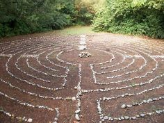 Walking a labyrinth is a sacred experience. Read Walking a Sacred Path: Rediscovering the Labyrinth as a Spiritual Practice -Lauren Artress