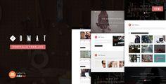Omat - Responsive One Page Portfolio Template