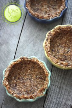 Raw Pie Crust: Dates