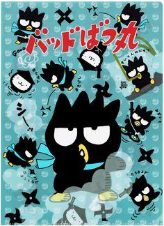 Sanrio Badtz Maru Blue Ninja File Folder