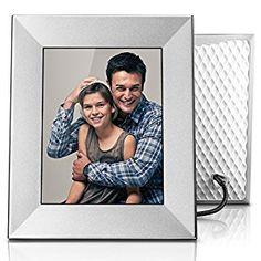 "Amazon.com : Nixplay Iris 8"" Wi-Fi Cloud Frame (W08E- Silver) : Camera & Photo"