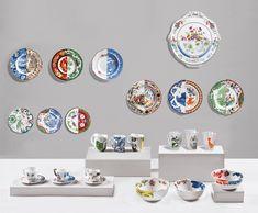 Hybrid Valdrada Porcelain Fruit Plate design by Seletti