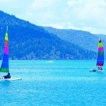 Catamarans, Hayman Island