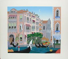 "Thomas McKnight ""Santa Maria"" from The ""Venice Revisited"" Portfolio | eBay"
