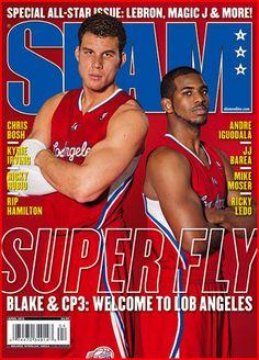 Blake Griffin & Chris Paul, Slam cover (February 2012)