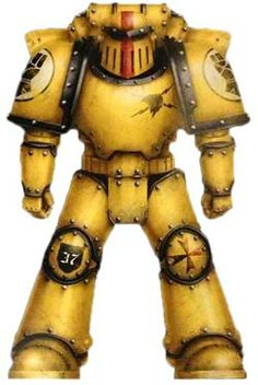 Pre-Heresy Imperial Fists Colour Scheme