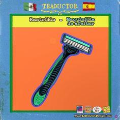 En España rastrillo es lo que para los mexicanos sería un bazar… #Confusión #MexicanosenEspaña #Traductor #LaPanzaesPrimero www.lapanzaesprimero.com