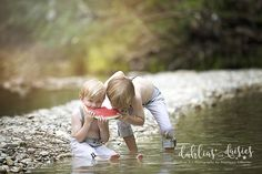 Dallas Family Photographer, summer, creek, watermelon, brothers Family Pictures, Baby Pictures, Cute Pictures, Summer Pics, Summer Pictures, Kids Photo Album, Picture Ideas, Photo Ideas, Boy Photo Shoot