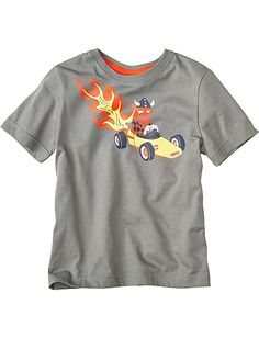 Hot Rod Viking Tee from #HannaAndersson.