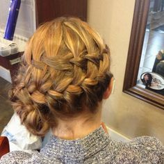 Katniss inspired hairstyle
