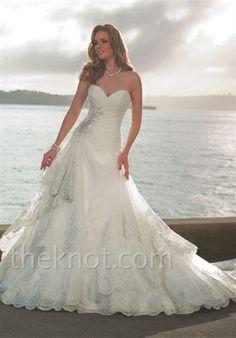 Sophia Tolli....love the bottom of this dress