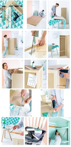 Stappenplan Multifunctionele roomdivider