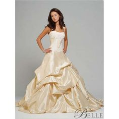 Wanted this so bad for my wedding!..Disney's Belle inspired dress