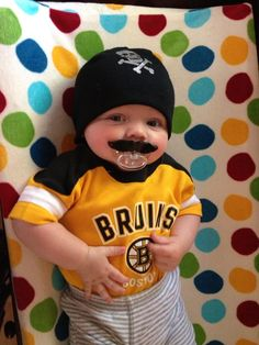 bf95651315f Bruins Fans By Birth  These Kids Have Strands Of Black  amp  Gold DNA Part