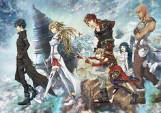 Tags: Anime, Dragon, Sword Art Online, Yuuki Asuna, Yui (Sword Art Online), Kirigaya Kazuto, Andrew Gilbert Mills