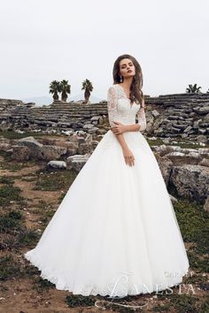 1343 best 3/4 sleeve wedding dresses. images on Pinterest | Alon ...