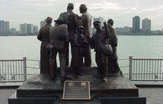 International Underground Railroad Memorial, Detroit, MI & Windsor, Canada