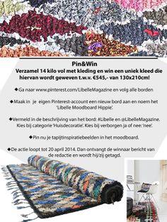 Het magazine Libelle gebruikt Pinterest om hun merk te promoten (deelnemers moeten de borden van Libelle op Pinterest volgen) en om hun actie mee te delen.   bron:http://www.pinterest.com/LibelleMagazine/actie-pinwin-een-carpet-of-life/