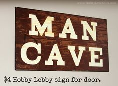 How to Create a Man Cave on a Budget |