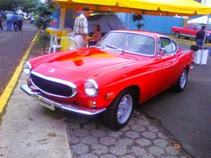 """1967 Volvo P1800  Simon Templar, """"The Saint"""" played by Roger Moore drove a Volvo P1800."""