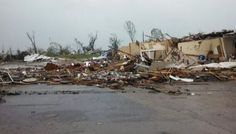Forecasters declared a tornado emergency for three counties around Tupelo, Mississippi, on Monday afternoon as a line of severe thunderstorm...