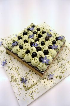 Cake moelleux pistache Michalak