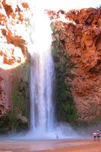 Mooney Waterfall at Havasupai