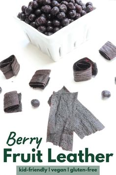 Berry Fruit Leather is an easy, on-the-go snack. Great alternative to candy & gummies. Extend the life of berries & reduce food waste. No dehydrator needed. Blackberry Recipes, Fruit Recipes, Healthy Recipes, Aloo Recipes, Milk Recipes, Egg Recipes, Pasta Recipes, Delicious Recipes, Bread Recipes
