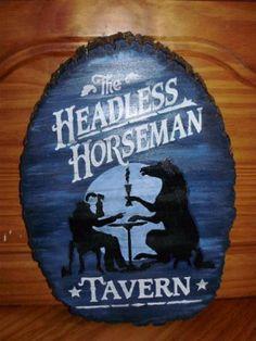 halloween tavern signs