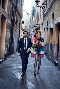 Adrien Brody and Natalia Vodianova mirror Bardot and Vadim—along with a hint of Wes Anderson.