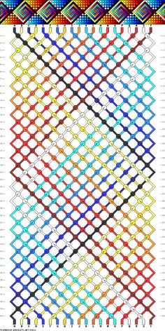 #69611 - colorful. . friendship-bracelets.net