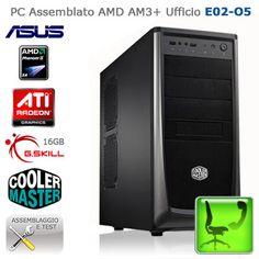 """PC Assemblato AMD AM3+ Ufficio """"E02-O5""""    http://www.e-key.it/prod-pc-assemblato-amd-am3-ufficio-e02-o5-37469.htm"""