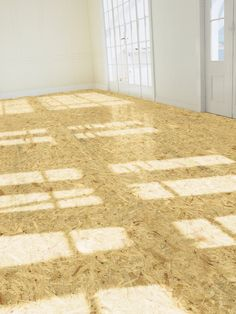 Tile that mimics raw plywood, OSB, or particle board. Pinocchi by 14 OraItaliana